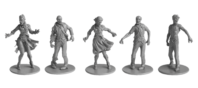 Zombie Walkers miniatures