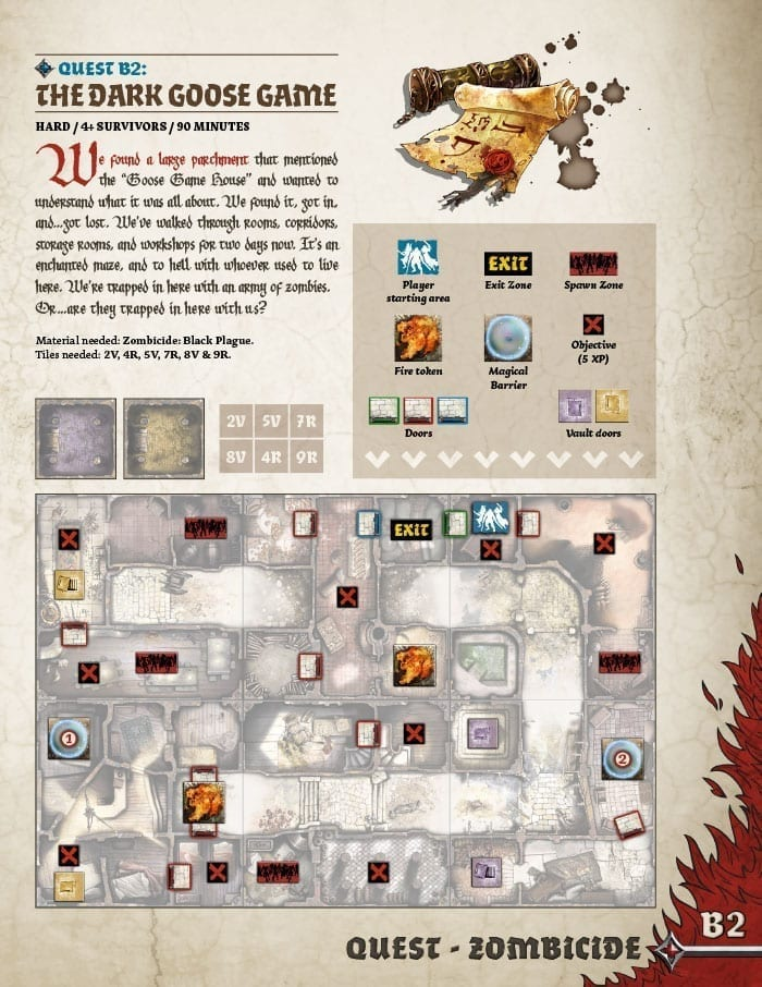 The Dark Goose Game Quests Zombicide Com
